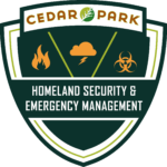 cedar park emergency management logo