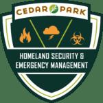 cedar park emergency management logo